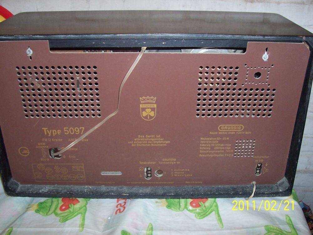 出根德电子管收音机5097